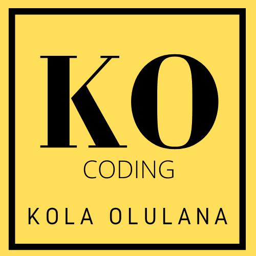 Kolawole Olulana | Coder Logo